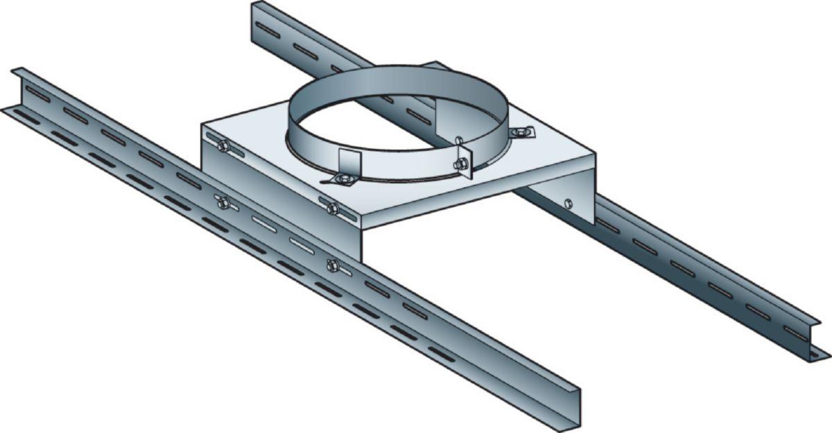Support plancher THERMINOX TI diamètre 180 mm SP180TZ / réf. 20180081