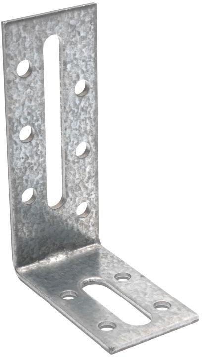 Equerre de fixation 80x55x30mm épaisseur 2,5mm