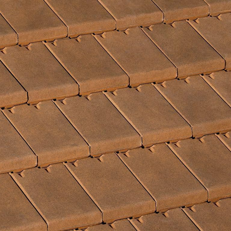 Faîtière demi-ronde de 33 - AR133 - terre cuite - brun vieilli - 390x270 mm