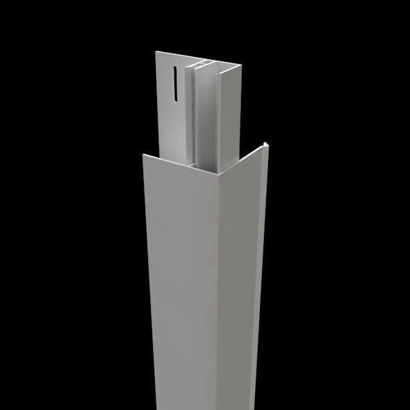 Couvercle d'angle(mâle) gris 150x50mmx5m