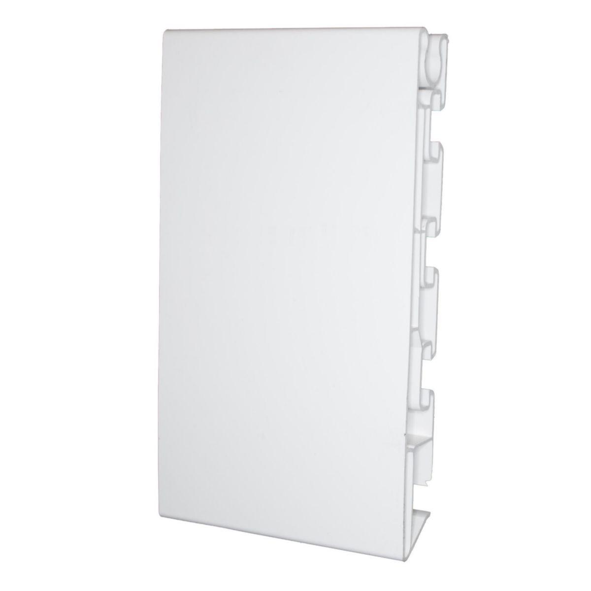 Bandeau PVC gris 25x180x4000mm