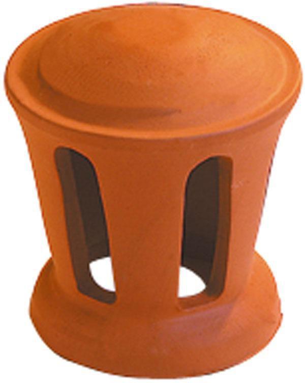 Lanterne petit modèle Phalempin 1003 - terre cuite - amarante rustique - H. 210 mm Ø 100 mm