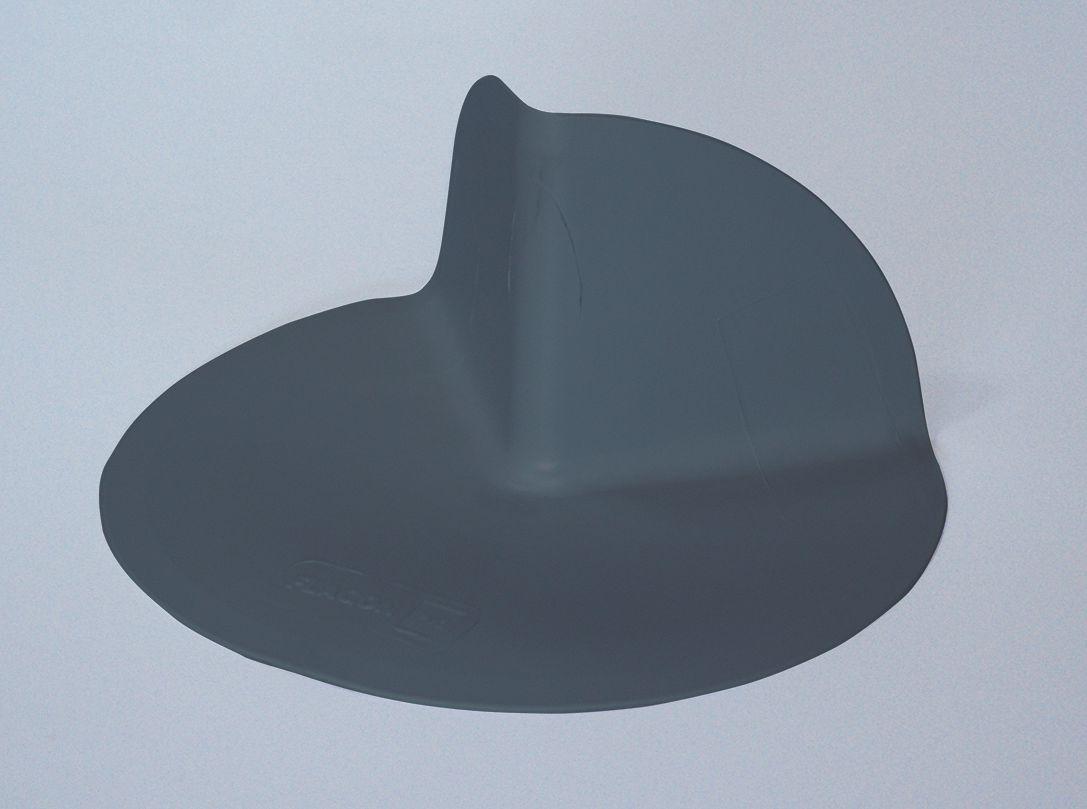 Revêtement d'étanchéité Flagon angle intérieur pvc 90 x95 RAL 7012