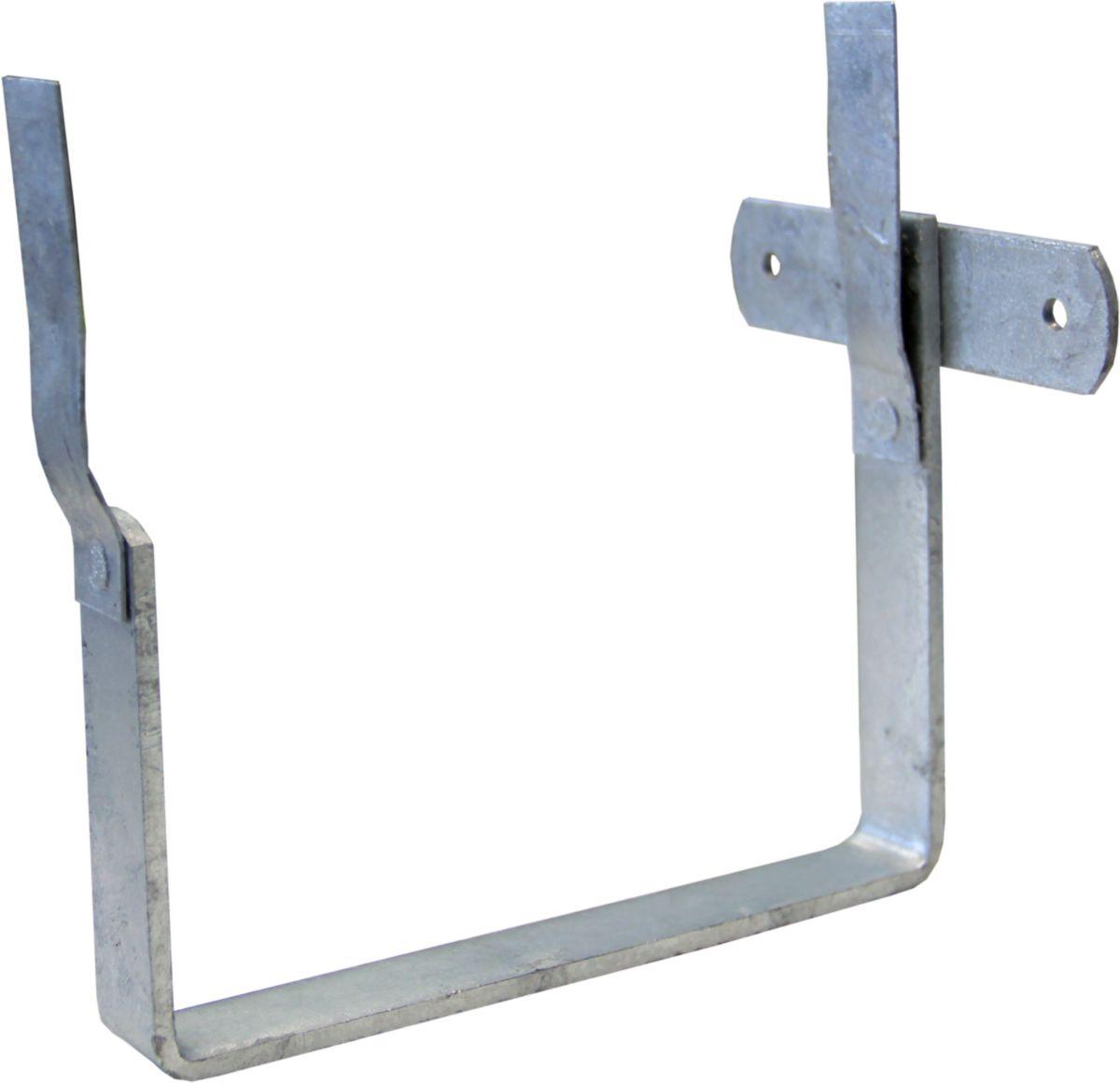 Crochet gouttière carrée MUS2 paillettes - Dév. 33 cm