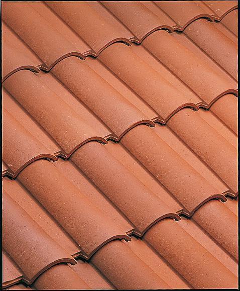 Tuile de ventilation Oméga 13 - terre cuite - rouge - section 21 cm²
