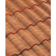 Tuile de rive rabat gauche embo tement romane terre cuite rouge vieilli imerys toiture for Tuile de rive romane