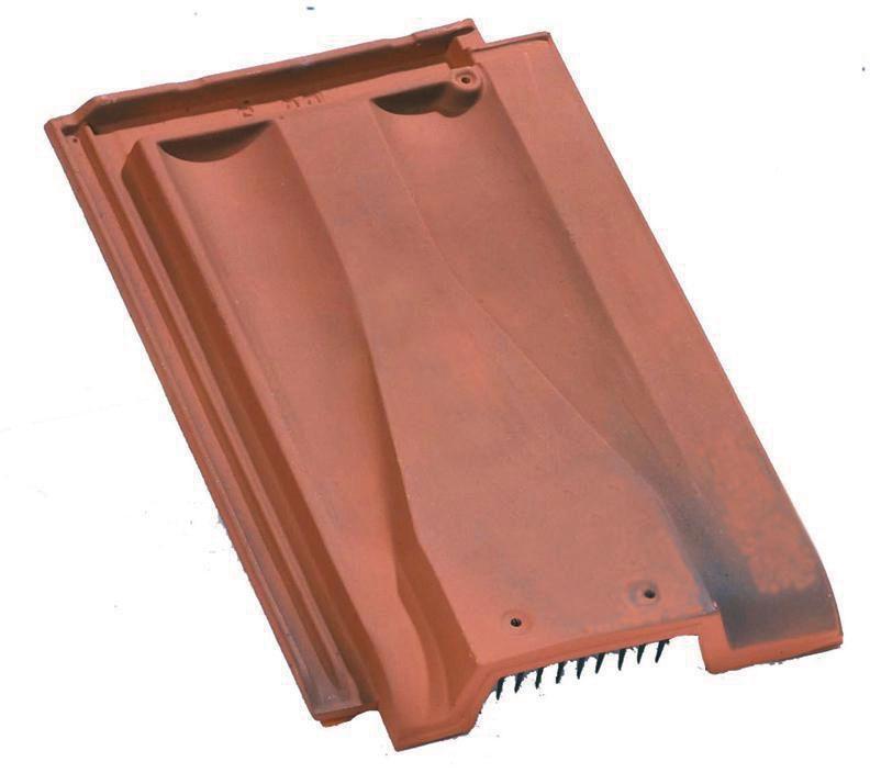 edilians tuile chati re ventilation edilians terre cuite rouge section avec grille 33 cm
