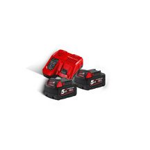 Ensemble chargeur + batteries Red Li-ion M18 NRG-502