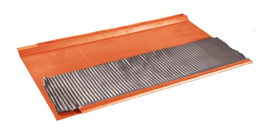 Rallonge supérieure cuivre pour garniture TM arr.