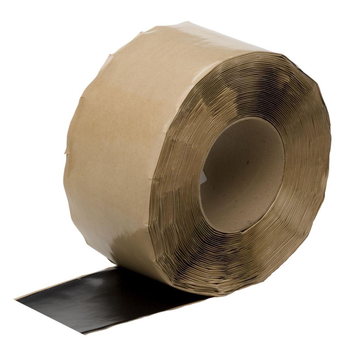Bande auto-adhesive Rubbercover QS batten cover strip rouleau de 15,24cmx7,62m W56RAC1694