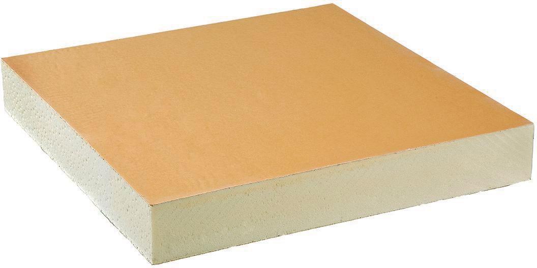 Panneau Efigreen DUO+ 600x600mm épaisseur 120mm R=5,45 m².k/w ACERMI 03/006/099