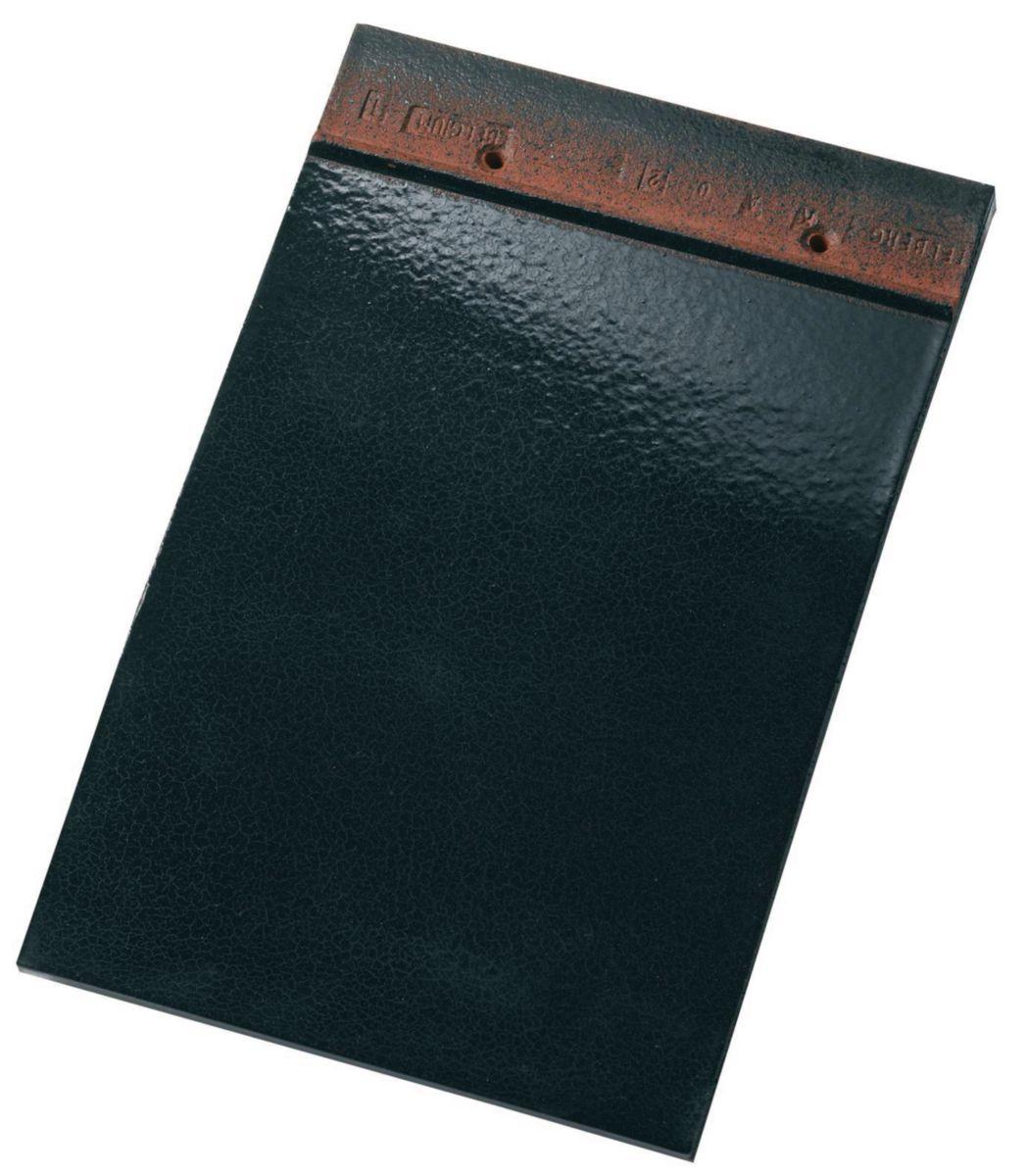 koramic tuile plate 301 terre cuite noir maill. Black Bedroom Furniture Sets. Home Design Ideas