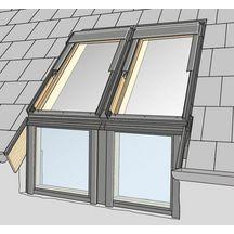 Raccords pour verri res raccordements fen tres de toit for Fenetre toit fixe