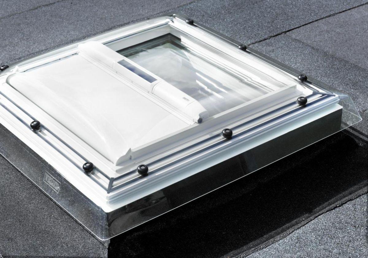 Velux Fenêtre Fixe Pour Toit Plat Cfp 0073q 90x120 Cm Asturienne