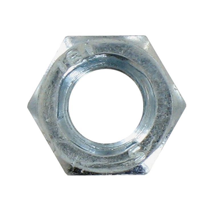 Ecrou hexagonal acier zingué diamètre 18mm boîte de 25