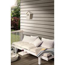 bardage clin c dral lap classic c02 vanille 10x190mm r elle 10x190x3600mm eternit cedral. Black Bedroom Furniture Sets. Home Design Ideas