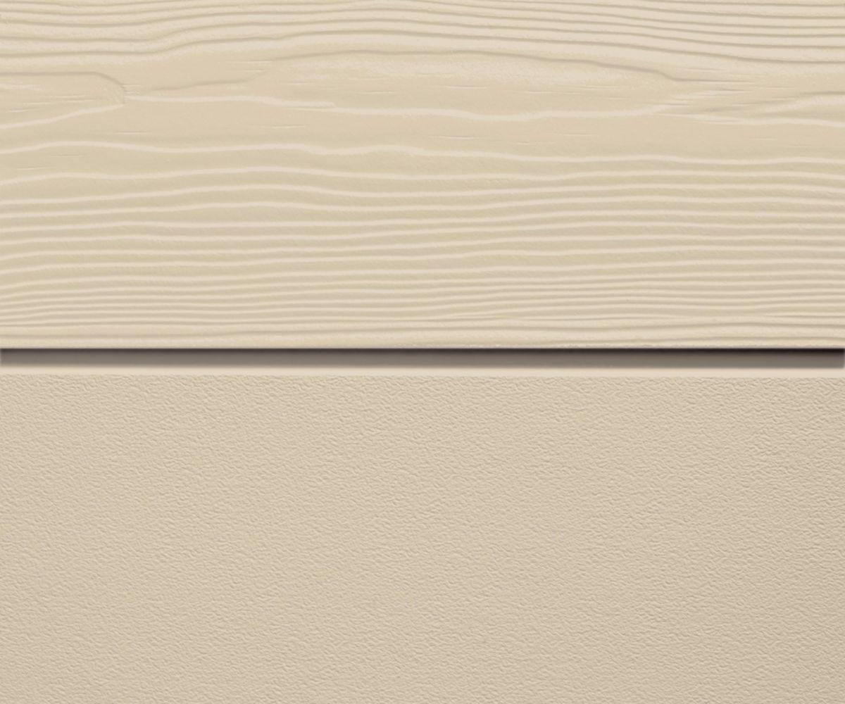 Profil de départ aluminium laqué pour bardage Cédral Lap - vanille - L. 3 m