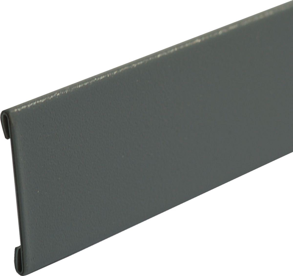 Feuillard collaminé PVC 2x0,05 RAL 7012