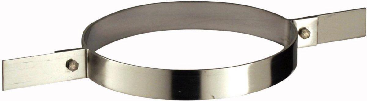 Collier de fixation haute TUBAGINOX, diamètre 125 mm CTF 125 / réf. 45125075