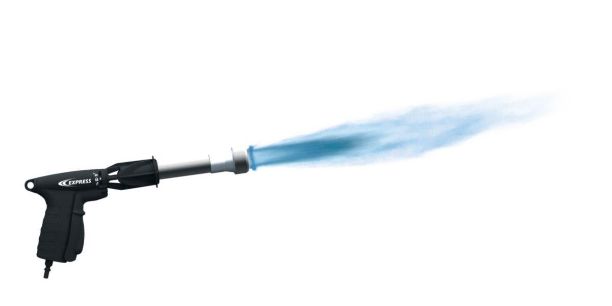 Chalumeau étanchéité Raptor, allumage Piezo, avec une lance de 70 kWh et une lance de 30kw 1027