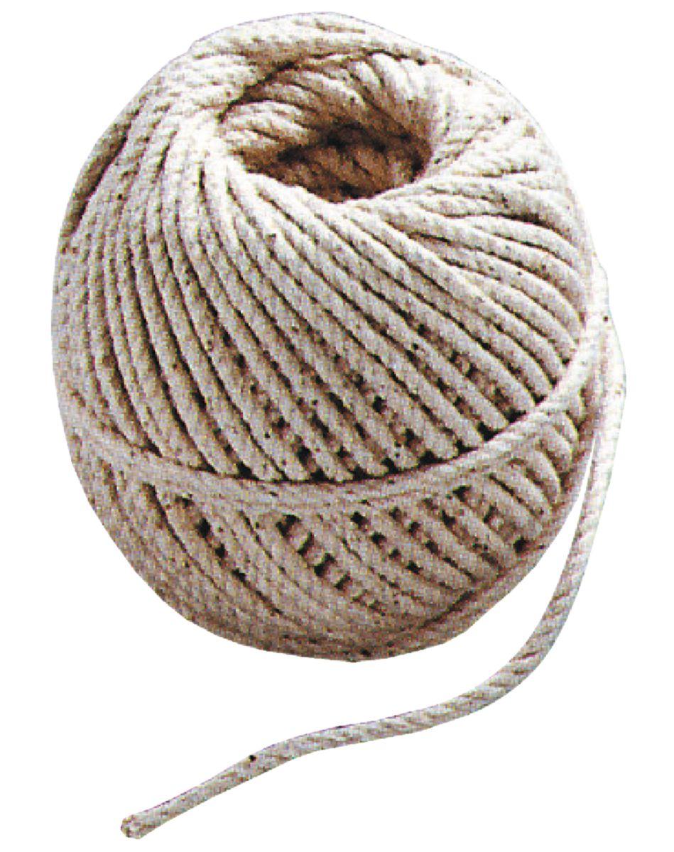 Cordeau coton tressé pelote de 100g diamètre 2,0mm (environ 46m)