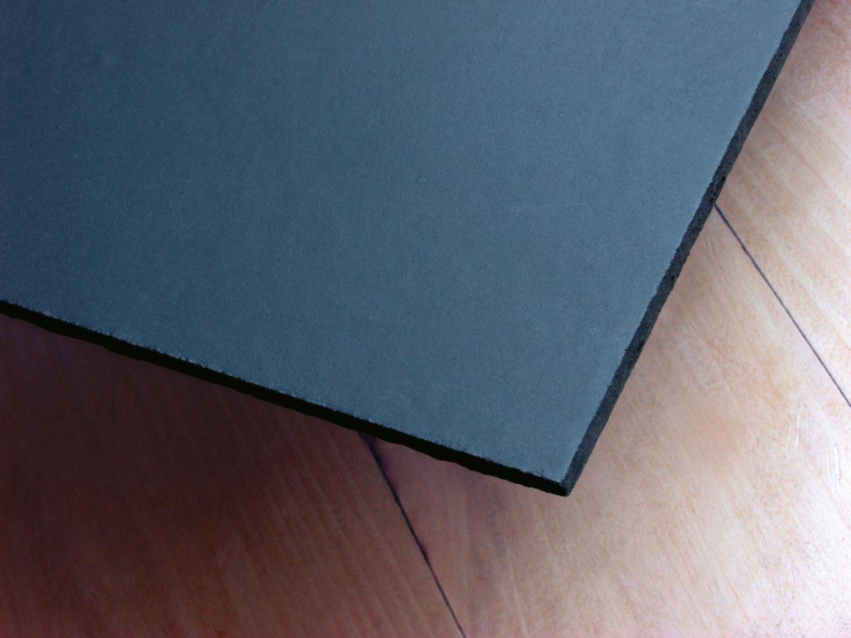 Ardoise fibres-ciment lisse Orléane Eternit anthracite 60x30 cm Classe B