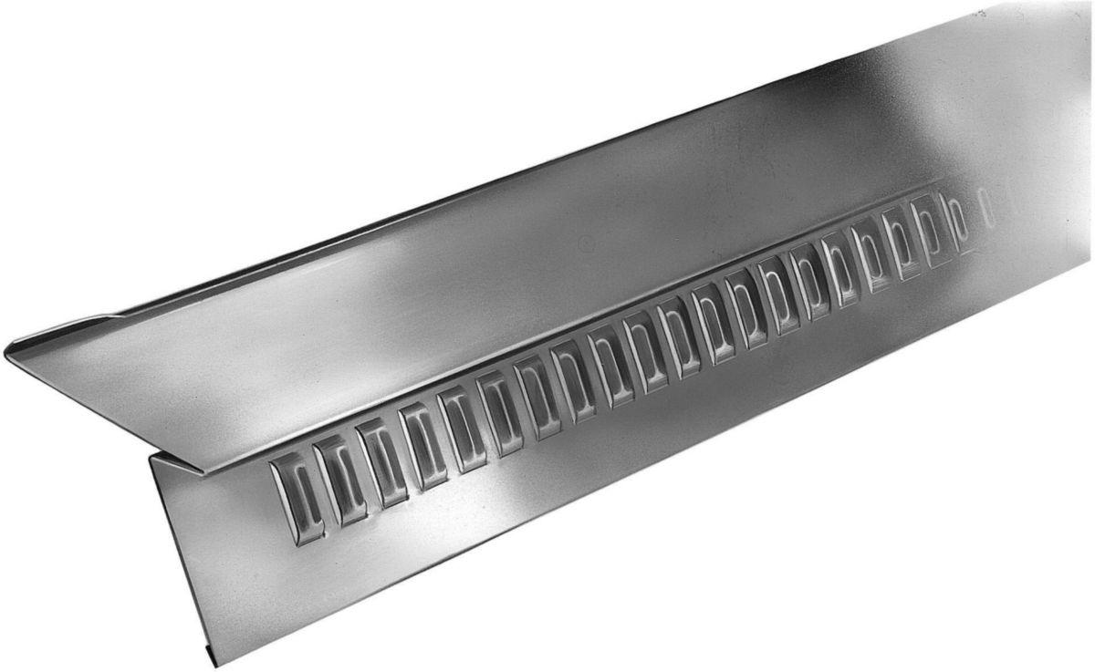 Kit 10 bandes d'égout ventilé +fixations ZINC PIGMENTO vert lichen 0,70x2m 220010683