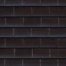 Koramic tuile plate 301 terre cuite noir maill - Prix tuile plate terre cuite ...